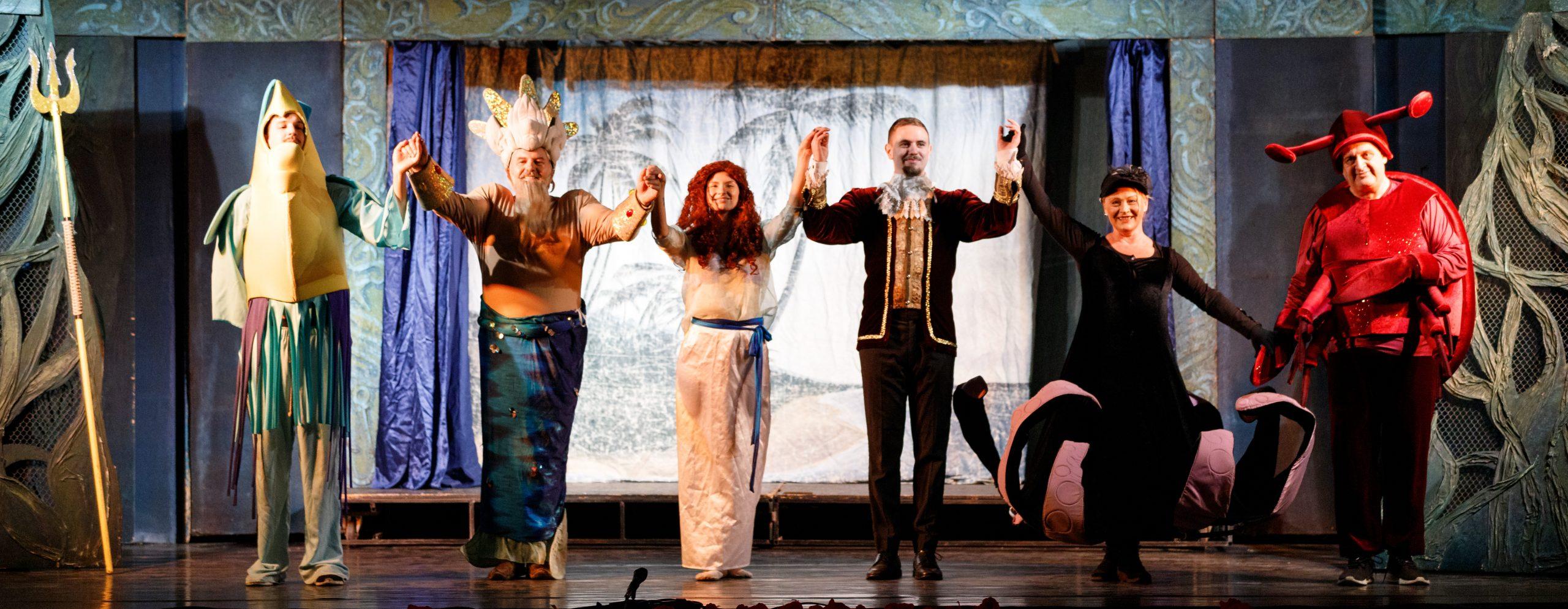 2021 Nyár - Szarvas - Vízi Színház - A kis hableány