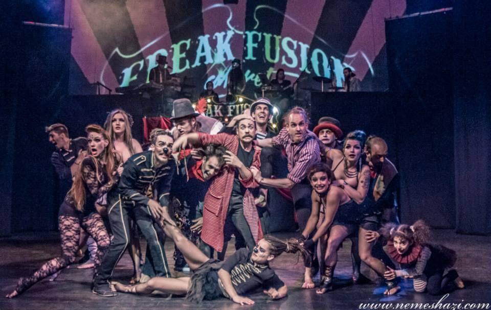 Fireworks Production - Freak Fusion Cabaret - Újcirkusz